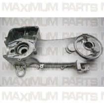 Crankcase Assy Left GY6 150 Top 1